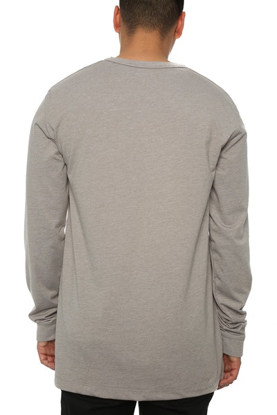 Well Made MJ Basic Long Sleeve Tee Grey