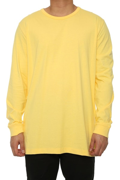 Well Made MJ Basic Long Sleeve Tee Yellow