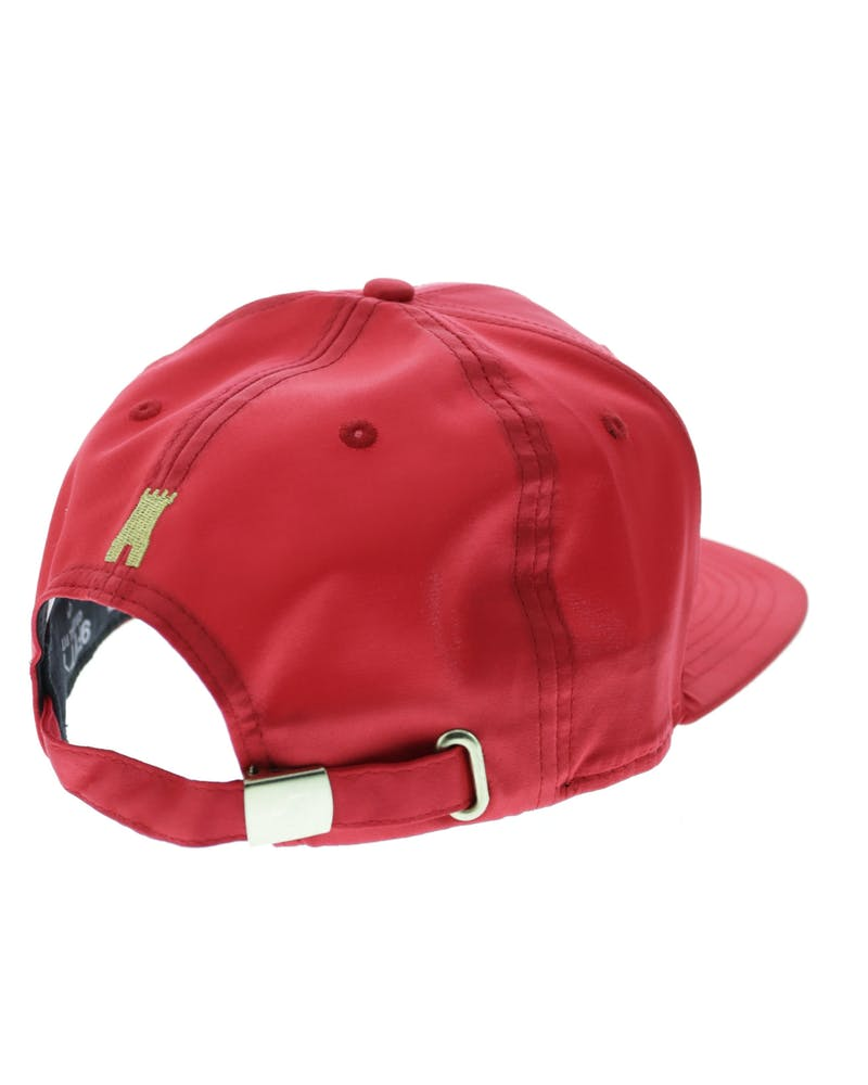 Crooks & Castles Thuxury Chain C Strapback Red