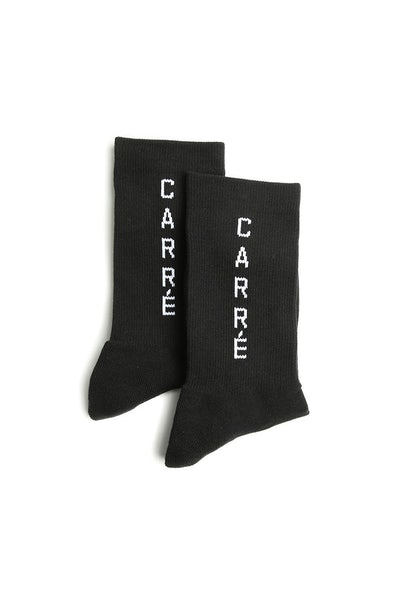 Carré Longitude Socks Black
