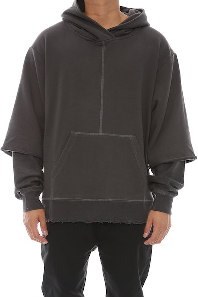 Civil Regime Owens Pull Over Hood Charcoal