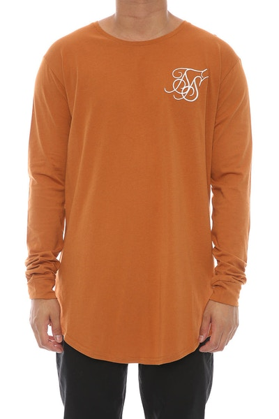 Sik Silk Undergarment LS Tee Orange