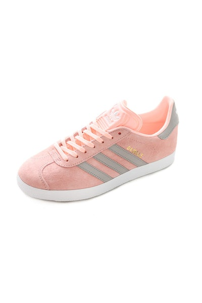 adidas Originals Women's Gazelle Pink/White/Grey