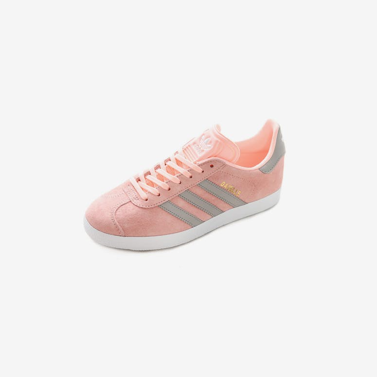 adidas Originals Women s Gazelle Pink White Grey  5fa9c608d