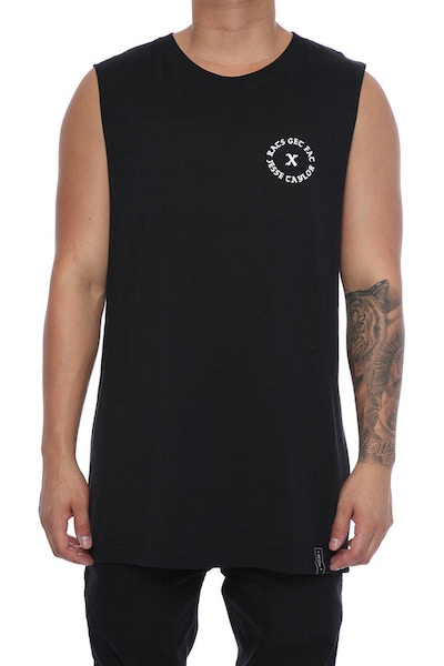 Rats Get Fat X Jesse Taylor Leader Muscle Tee Black