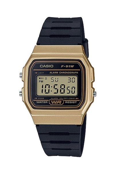 Casio F91WM STANDARD DIGITAL Gold/Black