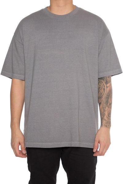 EPTM Embroidery Rose Box Tee Grey