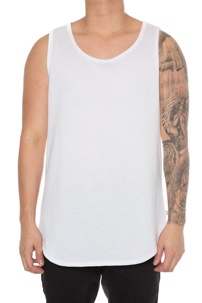 EPTM OG Long Tank Top White