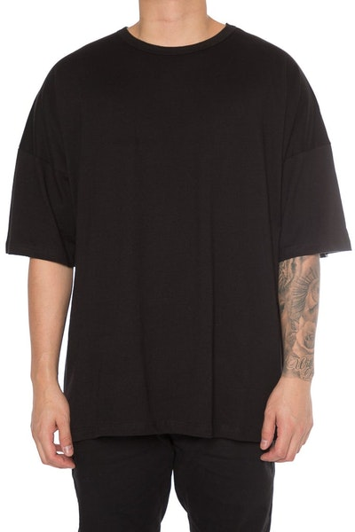 EPTM Drop Shoulder Oversize Tee Black
