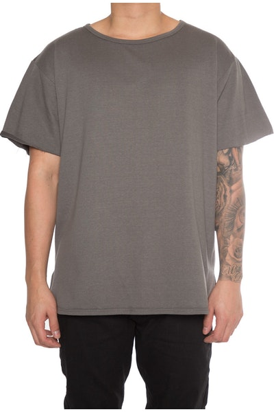 EPTM Oversized Terry Muscle Tee Grey