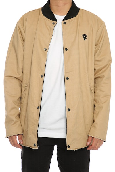Crooks & Castles Falcon Reversible Jacket Black/Khaki
