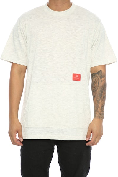 Crooks & Castles Force S/S Crew Grey Speckle