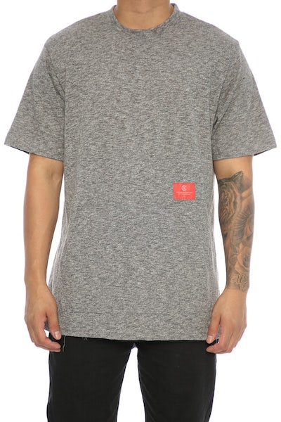 Crooks & Castles Force S/S Crew Speckle Black