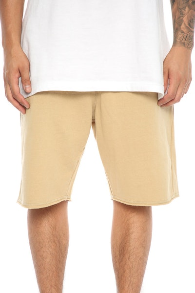Crooks & Castles Fury Shorts Khaki