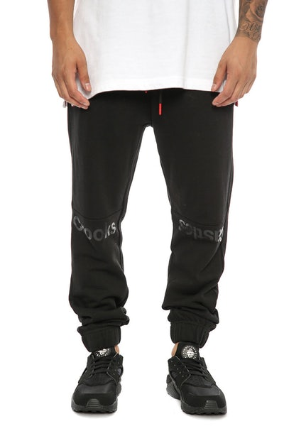 Crooks & Castles Pursuit Sweatpant Black