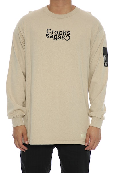 Crooks & Castles Covert Track Long Sleeve Khaki