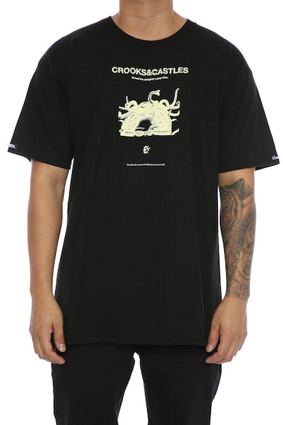 Crooks & Castles You Made Tee Black