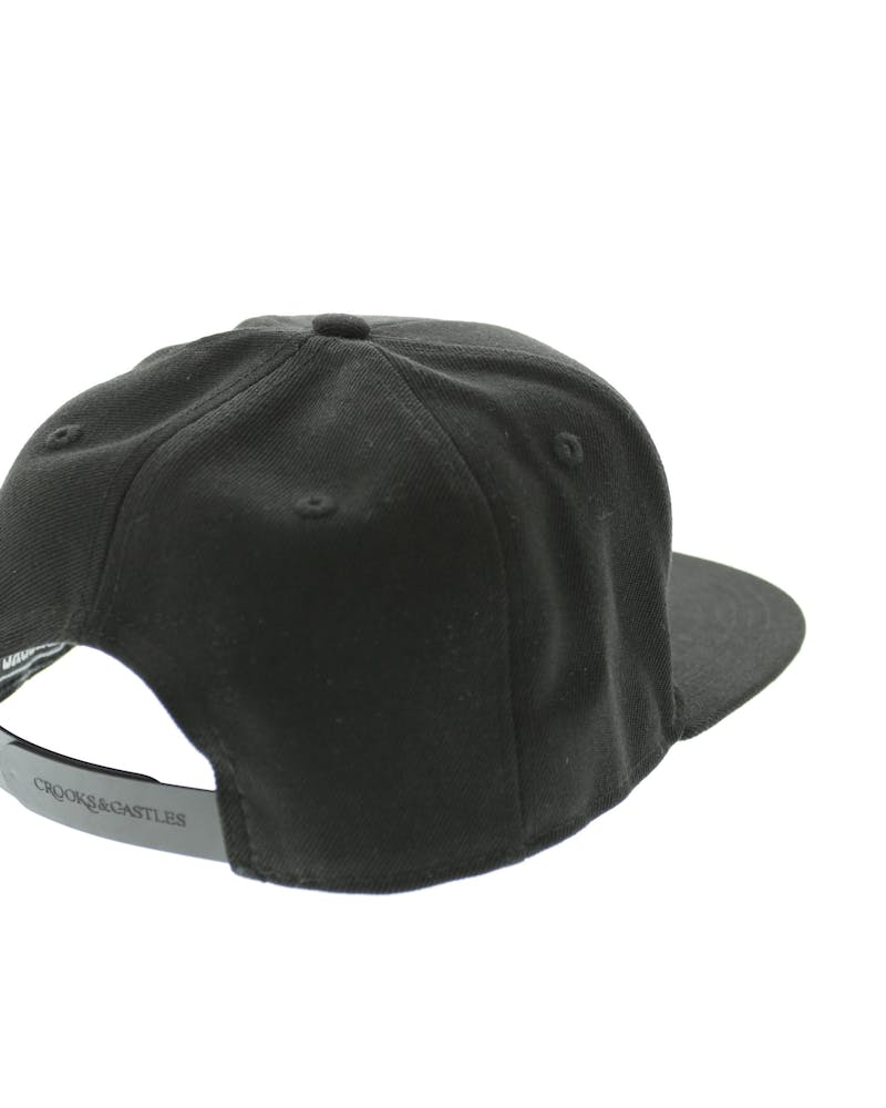 Crooks & Castles Opposite Snapback Black