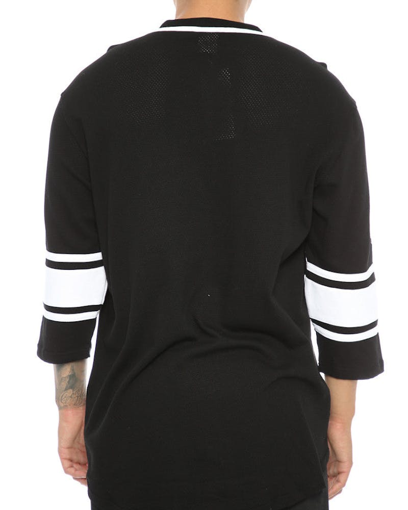 Crooks & Castles Toecutter Football Jersey Black