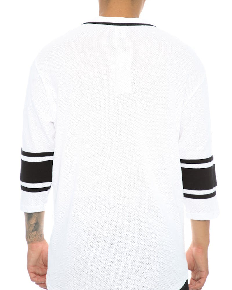 Crooks & Castles Toecutter Football Jersey White