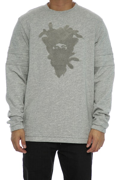Crooks & Castles Drifter Crew Grey Speckle