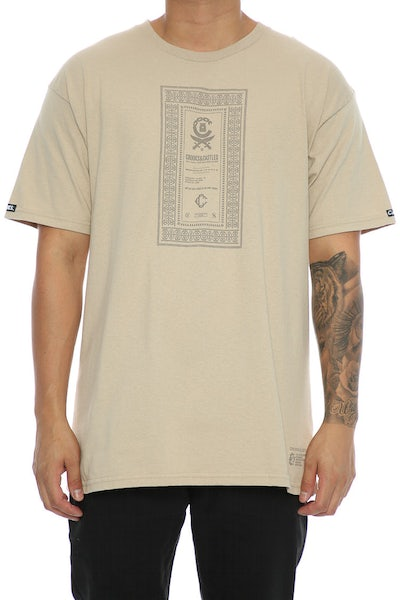 Crooks & Castles Classified Tee Khaki