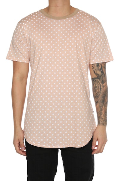 EPTM Polka Dot OG Long Tee Copper Nude