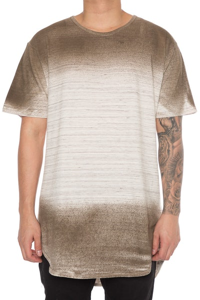 EPTM Spray Terry Long Tee Espresso