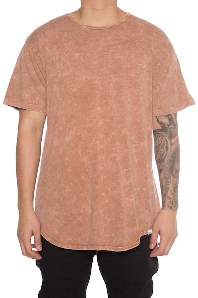 EPTM Mineral Wash OG Long Tee Rust
