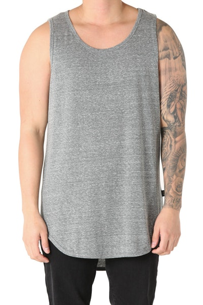 EPTM Triblend Long Tank Heather Grey