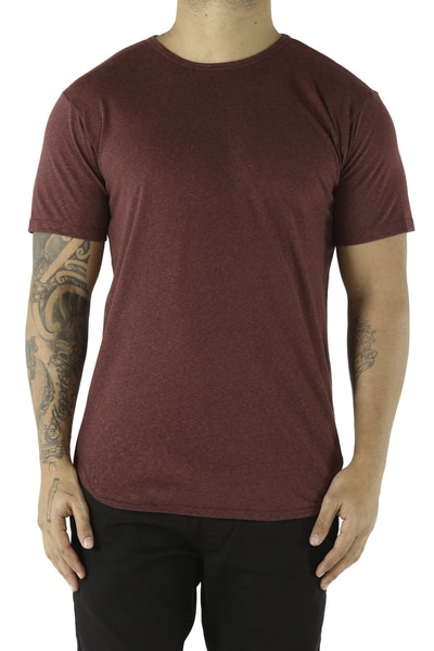 EPTM Triblend Round Bottom Tee Red