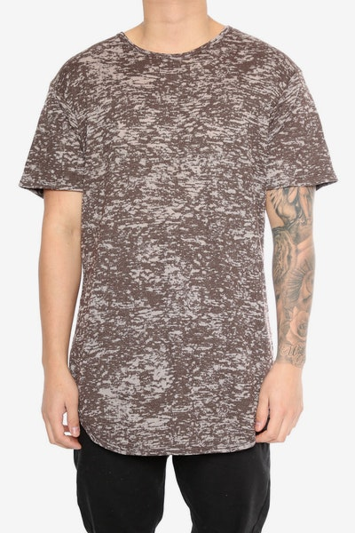 EPTM Burn Out OG Long Tee Brown
