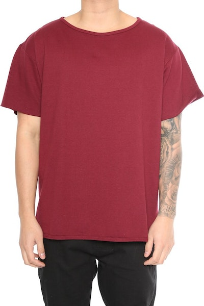 EPTM Oversized Muscle Tee Burgundy