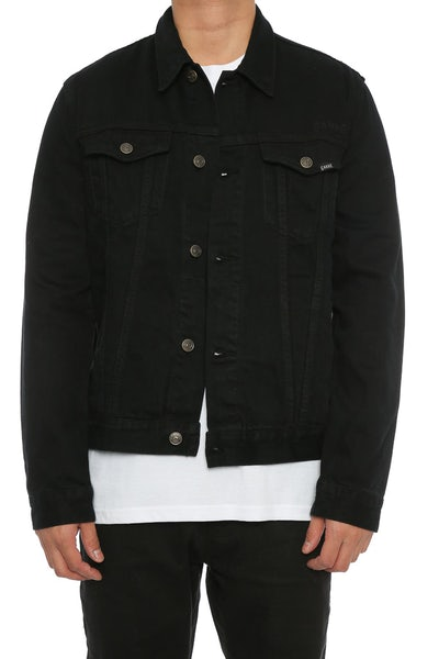 Carré Denim Jacket Black