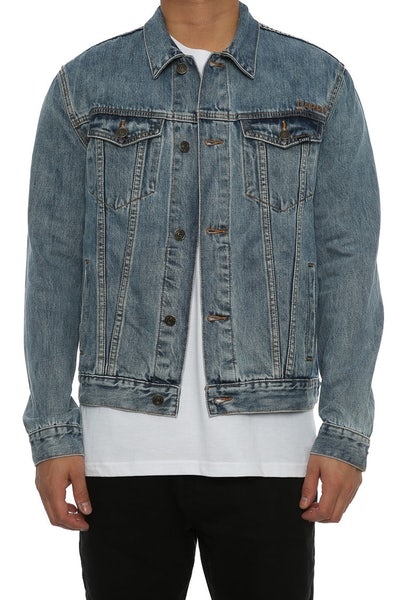 Carré Denim Jacket Blue Denim