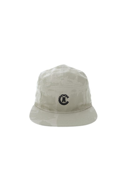 Crooks & Castles Beveled Hybrid 7 Panel Khaki