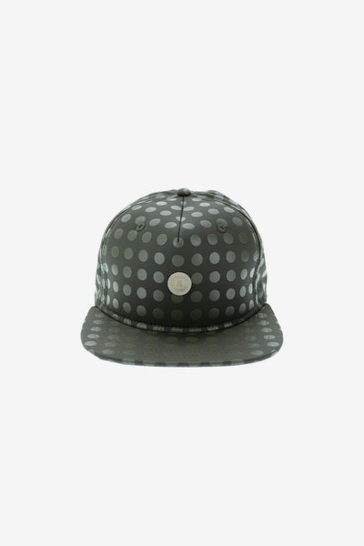 Crooks & Castles Hybrid C Patch Strapback Green