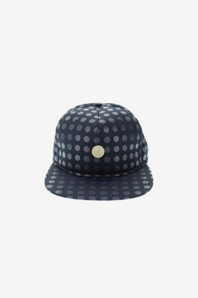 Crooks & Castles Hybrid C Patch Strapback Navy