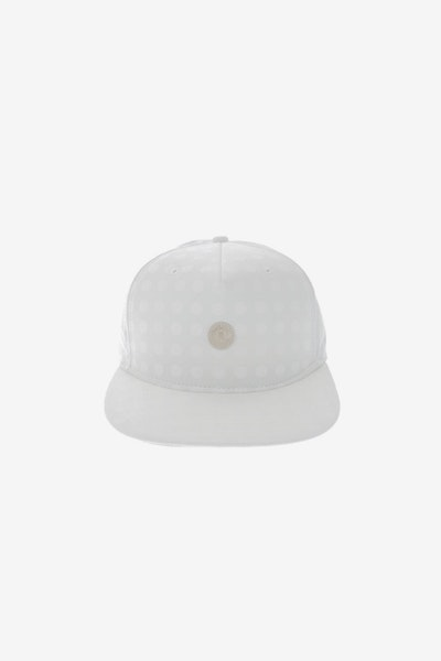 Crooks & Castles Hybrid C Patch Strapback White