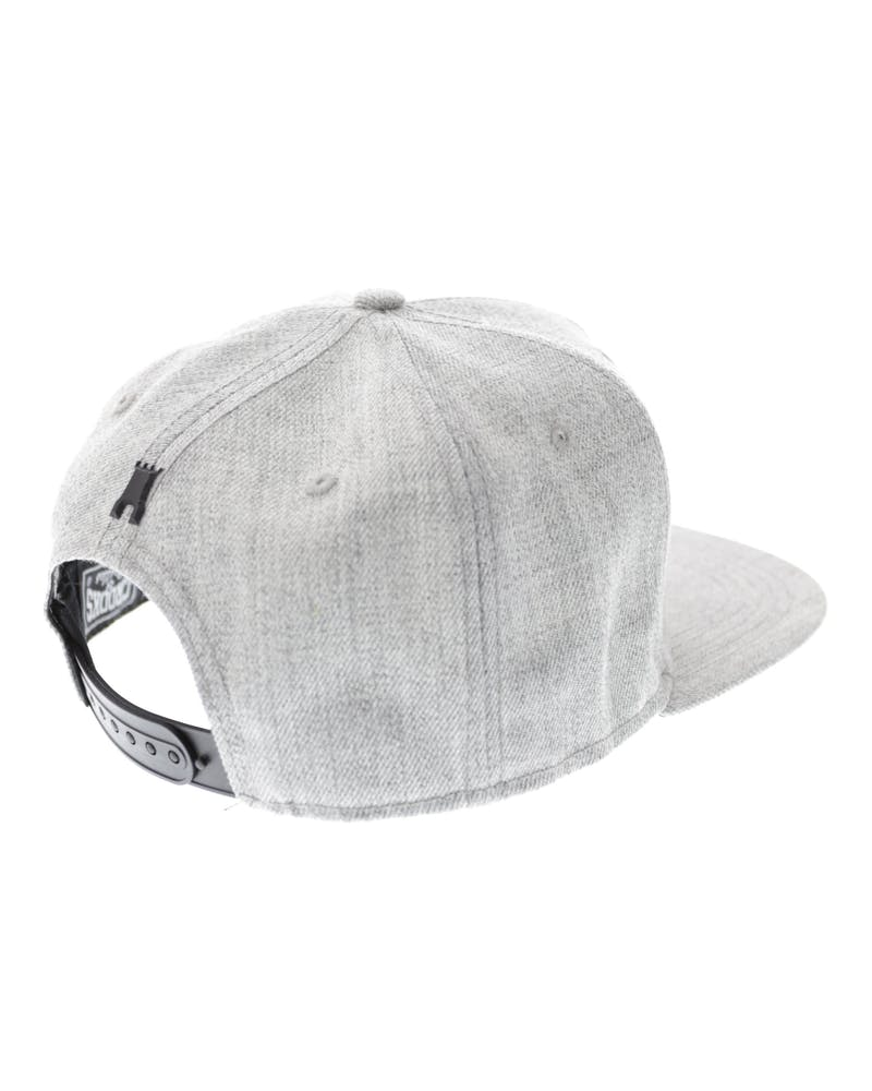 Crooks & Castles Chain C Snapback Grey Speckle