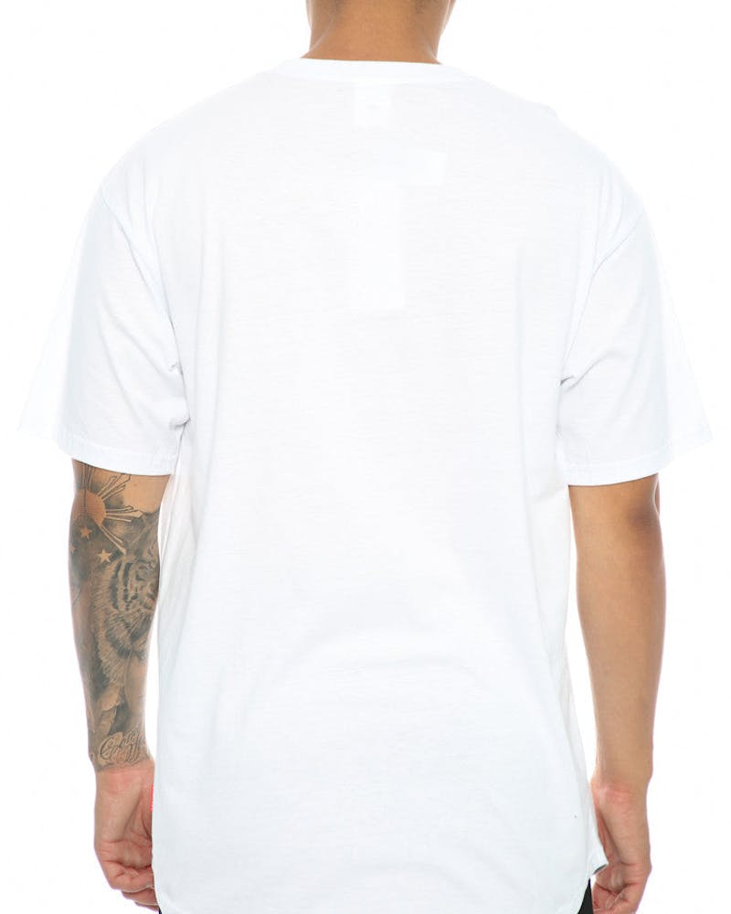 Crooks & Castles  Essential Chain C Tee White