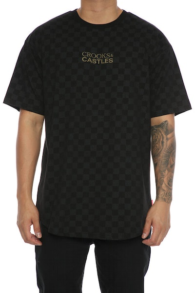 Crooks & Castles Teamster Tee Black