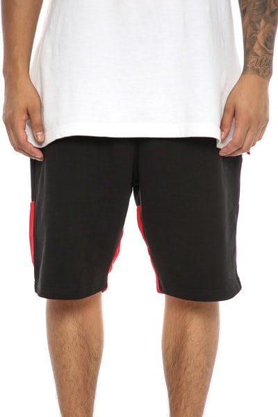 Crooks & Castles Halftime Sweatshort Black