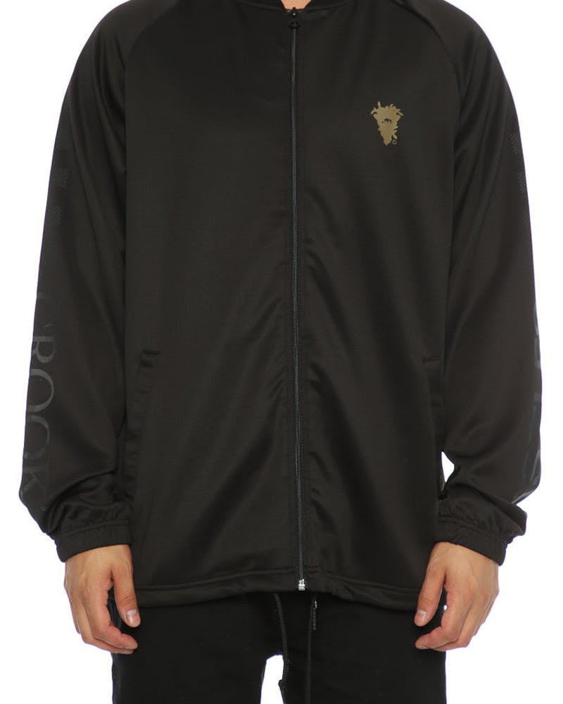 Crooks & Castles Teamster Track Jacket Black