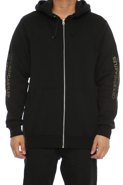 Crooks & Castles Lady Luck Hood Black