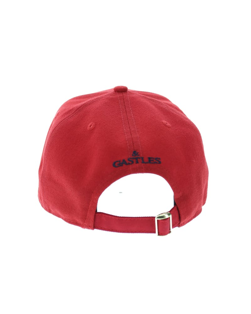 Crooks & Castles Serif Strapback Red