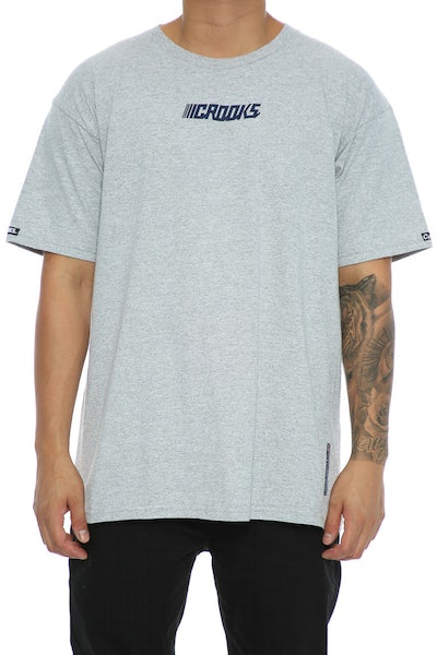 Crooks & Castles Crooks Performance Tee Heather Grey