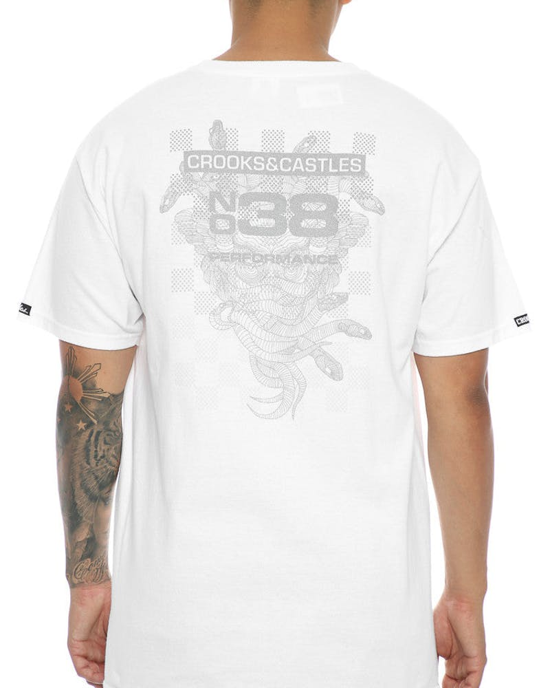 Crooks & Castles Crooks Performance Tee White