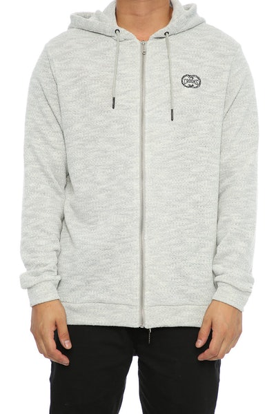 Crooks & Castles Nitro Zip Hood Heather Grey