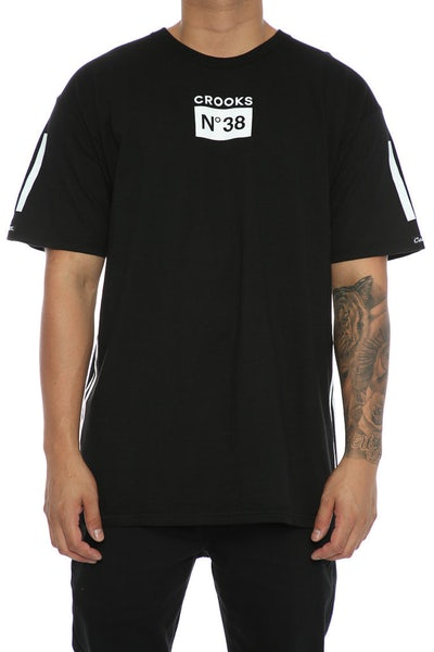 Crooks & Castles Prime No.38 Tee Black